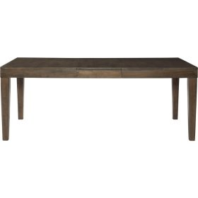 Extension Leg Table in Pewter