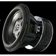 "12"" 2 ohm voice coil subwoofer"