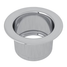 Polished Chrome Extended Disposal Flange