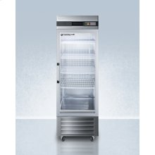Performance Series Pharma-lab 23 CU.FT. All-refrigerator In Stainless Steel With Glass Door