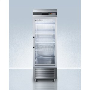 SummitPerformance Series Pharma-lab 23 CU.FT. All-refrigerator In Stainless Steel With Glass Door