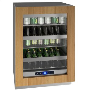 "U-Line24"" Refrigerator With Integrated Frame Finish (115 V/60 Hz Volts /60 Hz Hz)"