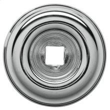 Polished Chrome Knob Back Plate