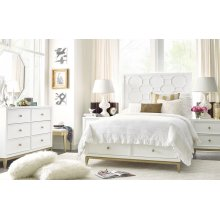 Chelsea by Rachael Ray Panel Bed w/ Storage Footboard Twin, 3/3