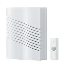 "Wireless Door Chime Kit, 6""w x 7-5/8""h x 2-1/4""d"