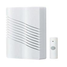"Wireless Door Chime Kit, 6""w x 7-5/8""h x 2-1/4""d"