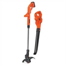 20V MAX* Lithium 10 In. String Trimmer/Edger + Hard Surface Sweeper Combo Kit