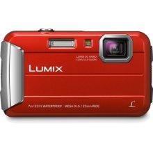 LUMIX DMC-TS25 Active Lifestyle Tough Camera - Red