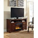 Gabriela - Dark Reddish Brown 2 Piece Entertainment Set Product Image