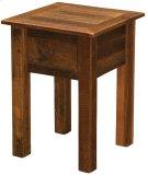 Barnwood One Drawer Nightstand - Barnwood Legs Product Image