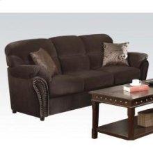 Velvet Sofa W/2pil @n