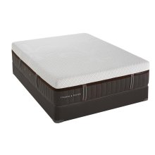 Lux Estate Hybrid Collection - Brooklet - Luxury Cushion Firm - Twin