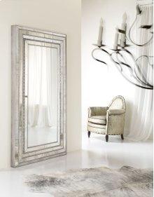 Accents Melange Glamour Floor Mirror w/Jewelry Armoire Storage