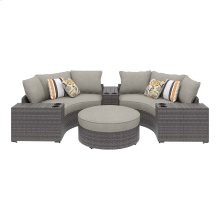 Spring Dew - Gray 6 Piece Patio Set