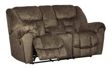 Capehorn DBL Rec Loveseat w/Console - Earth