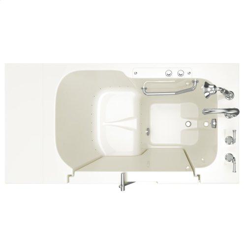 Value Series 32x52-inch Air Massage Walk-in Tub  American Standard - Linen