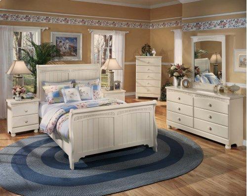 Cottage Retreat - Cream Cottage 2 Piece Bedroom Set
