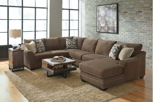 Justyna Teak Sectional