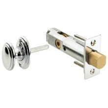 Traditional Privacy Bolt Set with Oval Turnpiece in (Traditional Privacy Bolt Set with Oval Turnpiece - Solid Brass)
