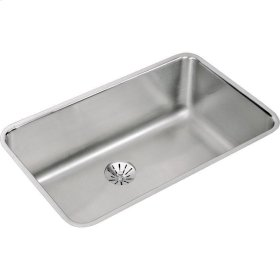 """Elkay Lustertone Classic Stainless Steel 30-1/2"""" x 18-1/2"""" x 10"""", Single Bowl Undermount Sink with Perfect Drain"""