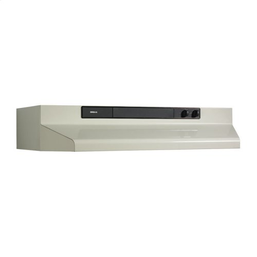 "36"" 220 CFM Bisque Under-Cabinet Range Hood"