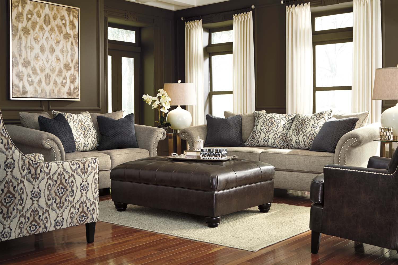 Ashley 46101 Jonette   Stone Living Room Set Houston Texas USA Aztec  Furniture