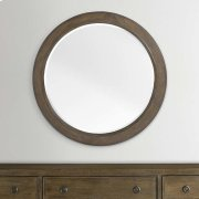 Compass Western Brown Compass II Round Mirror Product Image