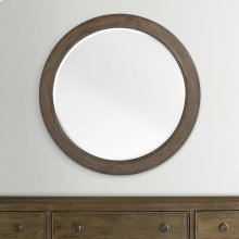 Compass Western Brown Compass II Round Mirror