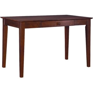 JOHN THOMAS FURNITUREWriting Table w/ Drawer in Espresso