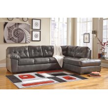 Alliston DuraBlend Sectional, Grey RAF Corner Chase and LAF Sofa