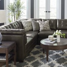 Affinity Espresso Affinity Small L-Shaped Sectional