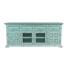 "Charleston Aqua Green 70"" TV Stand"