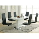 Nameth Contemporary White Dining Table Product Image
