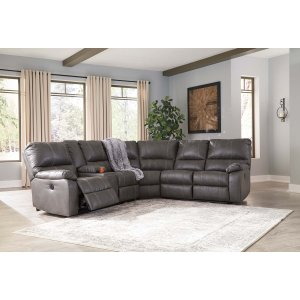Ashley Furniture Warstein - Gray 3 Piece Sectional