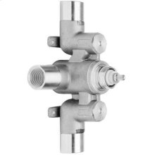 """3/4"""" Concealed thermostatic valve - rough"""