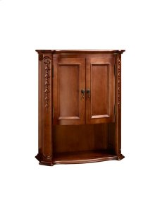 Bordeaux Bathroom Wall Cabinet in Colonial Cherry
