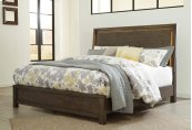Camilone - Dark Gray 3 Piece Bed Set (King)