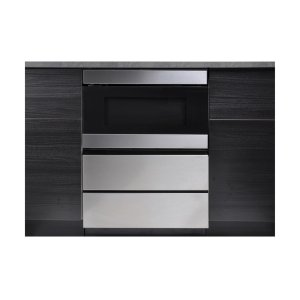 Sharp24 in. Under the Counter Microwave Drawer Oven Pedestal