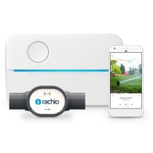 16 Zone Rachio 3 Sprinkler Controller & Wireless Flow Meter Smart Water System