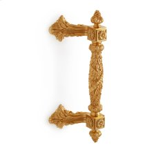 Antique Gold Acanthus Bar Pull - Large