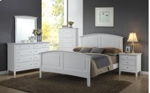 3226 Carter Twin BED COMPLETE; Twin HB, FB, Rails & Slats