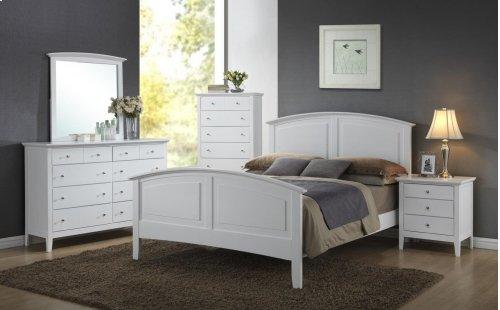 3226 Carter Queen BED COMPLETE; Queen HB, FB, Rails & Slats