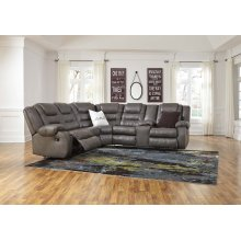 Walgast - Gray 2 Piece Sectional