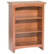 """GAC 36""""H x 24""""W McKenzie Alder Bookcase"""