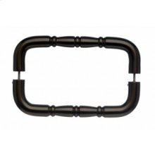 Nouveau Ring Door Pull Back to Back 8 Inch (c-c) - Oil Rubbed Bronze