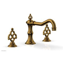 MAISON Deck Tub Set 164-40 - French Brass