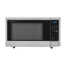 2.2 cu. ft. 1200W Stainless Steel Countertop Microwave Oven