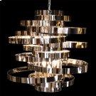 Hemispheres 8 Light Chandelier Silver Product Image