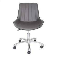 Mack Swivel Office Chair Grey