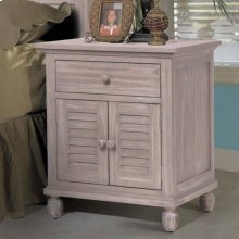 1 Drawer / 2 Door Nightstand